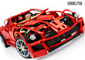 Technic Super Car 599 GTB racing car series 1:10 Building Block 1322pcs Educational DIY toys for children