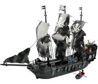 Large scale Pirate Ship Model Pirates of the Caribbean Black Pearl Building Blocks Toys for Children Christmas Gift