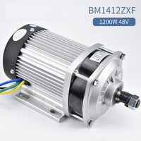 Escooter conversion kit Bicicleta Eletrica Bm1412zxf 48v 60v 1200w Brushless Motor For E tricycle car Electric Bike Bicycle