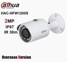 Dahua HAC HFW1200S 2MP HDCVI IR Bullet Camera 1080P IR 30m IP67 Waterdichte Vervangen DH HAC HFW1220S Analoge Camera CCTV Camera