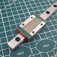 1pcs 400mm hardened steel rail and carriages MGN 12H linear guide for Reprap Kossel Delta 3D printer