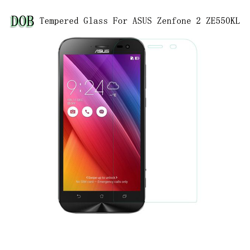 "0.3mm Explosion-proof Tempered Glass Film for ASUS Zenfone 2 Laser/ZE550KL/ 5.5"" Z00LD LCD Screen Protector +clean kits"