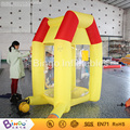 promotional Inflatable T-Cash Cube box 2.2 meter high running money inflatable game BG-A0675-4 toy