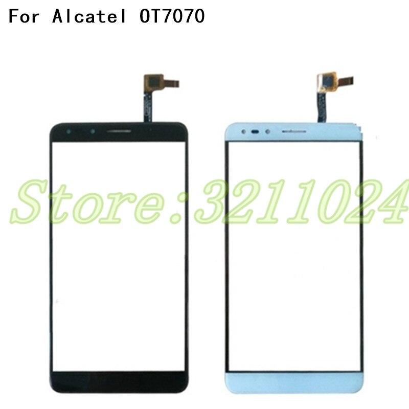 100% тестирование 6,0 дюйм(ов) Сенсорный экран Сенсор для Alcatel Pop 4 7070 OT-7070 OT7070 Сенсорный экран планшета спереди Стекло объектива