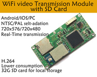 Linkcard 2.4G Wireless Transmitter Module UAV Drone CVBS to WiFi WiFi AV Transmitter|Circuits| |  -
