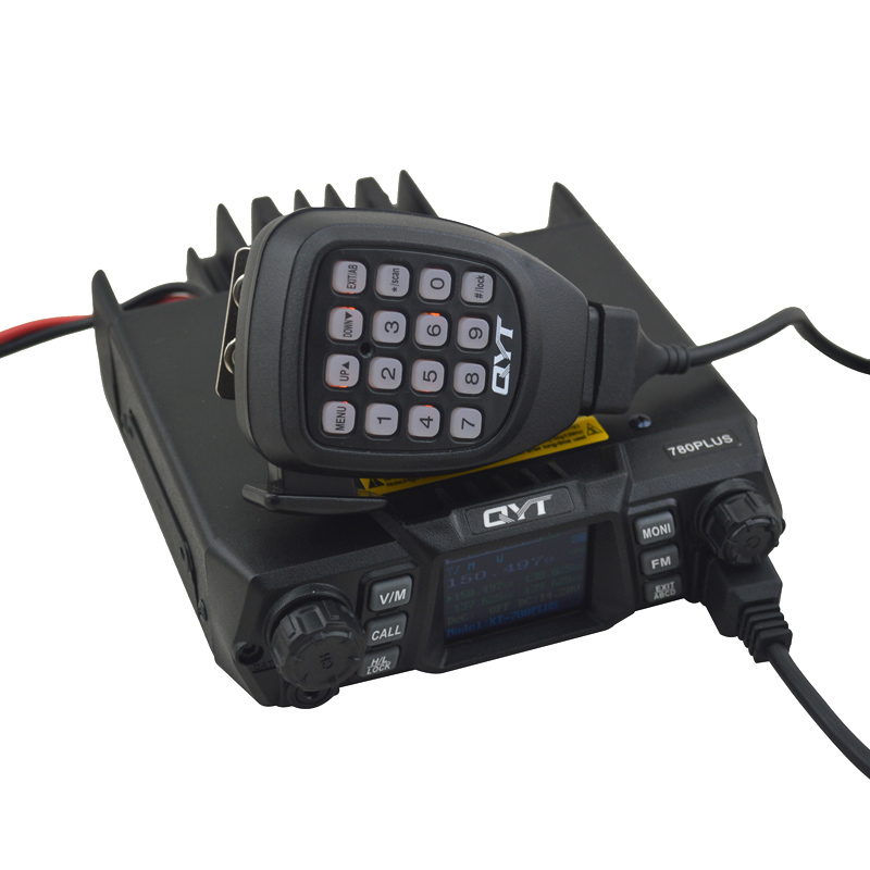 100Watts VHF Car Radio QYT 780PLUS Mobile Radio KT-780PLUS walkie talkie 136-174MHz 200 Memory Channels FM Mobile Transceiver100Watts VHF Car Radio QYT 780PLUS Mobile Radio KT-780PLUS walkie talkie 136-174MHz 200 Memory Channels FM Mobile Transceiver