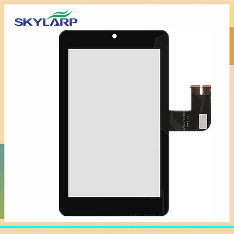 original Black Tablet PC Touch Screen for Asus MeMO Pad HD7 ME173 ME173X digitizer panel glass (with logo) new for asus eee pad transformer prime tf201 version 1 0 touch screen glass digitizer panel tools