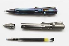 New! Mini Portable TC4 Titanium Alloy Tactical Pen Self defense Military Tool Keychain Pen Survival Emergency EDC Outdoor Tools