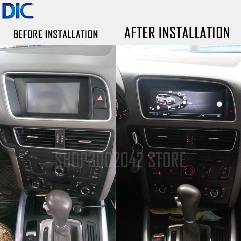 DLC Android система gps навигационный плеер правая рука Левая рука 10,25 дюймов wifi видео оригинальная система для Audi Q5 2010-2016