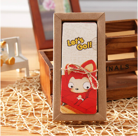 1pack/lot New Fox Series Bookmark Set   Paper Bookmarks For Books  Book Holder 30 Piece Per Kraft Package
