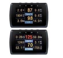 Автомобильный измеритель obd2 с держателем скорости температуры