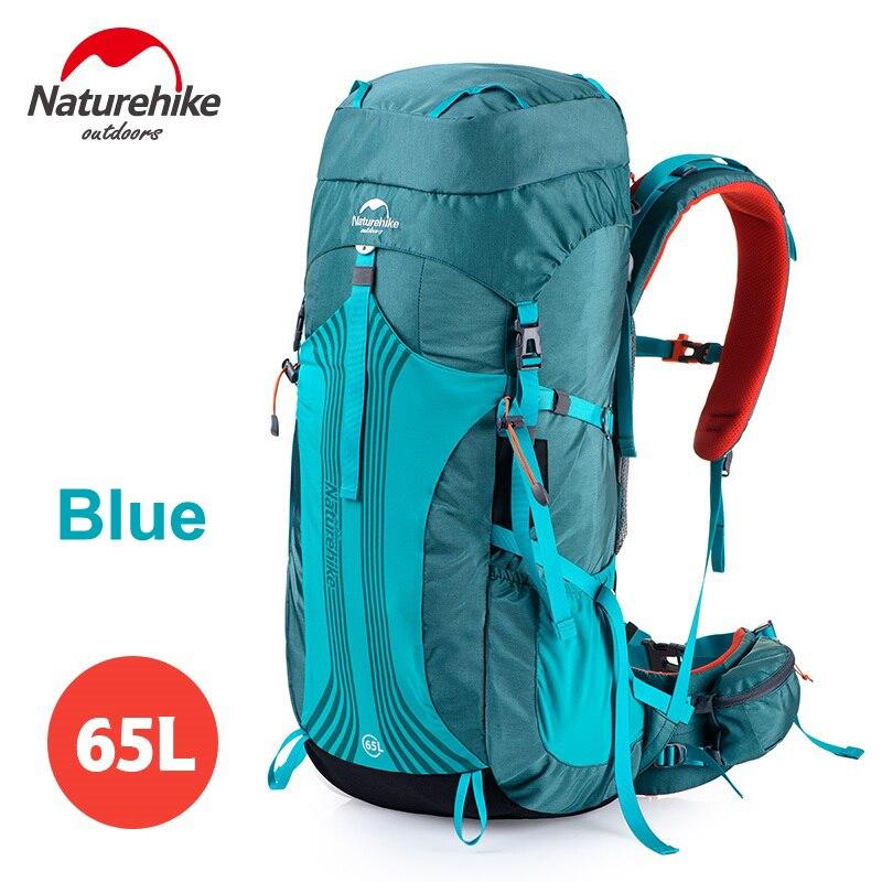Naturehike 65L Interne Cadre Sac À Dos Trekking & Packs pour Randonnée En Plein Air Voyage Escalade Camping Alpinisme