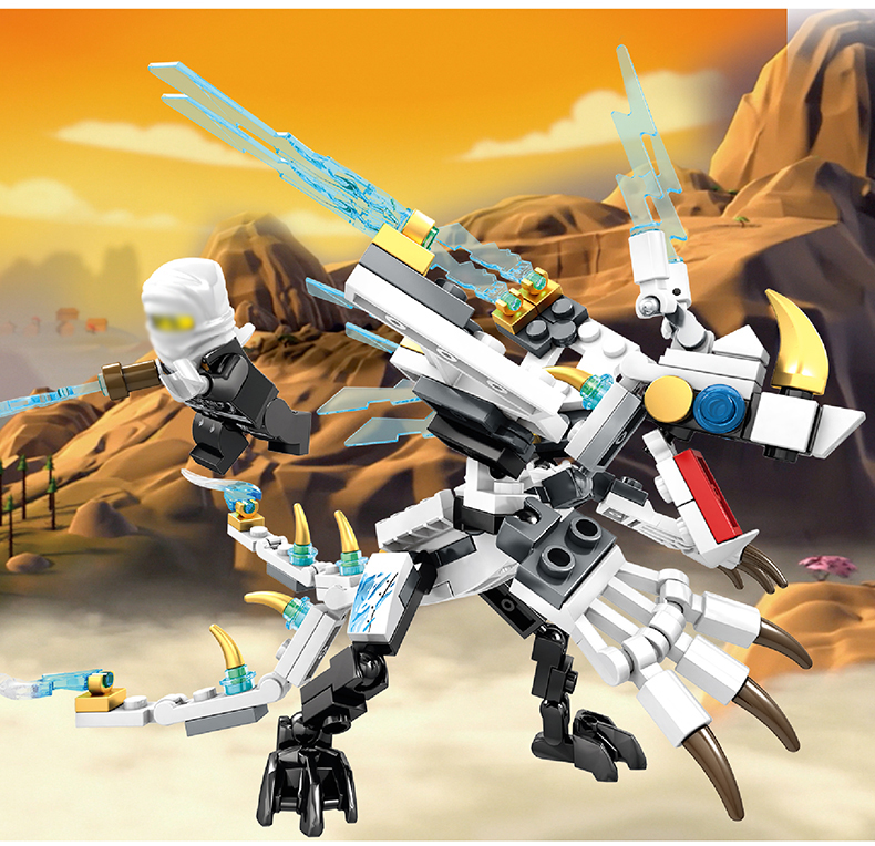 Ninjago Dragon Building Blocks 30