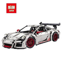 Lepin 20001 20001B Technic Series 2704PCS Orange White Super Race Car Model 42056 Building Kits Blocks