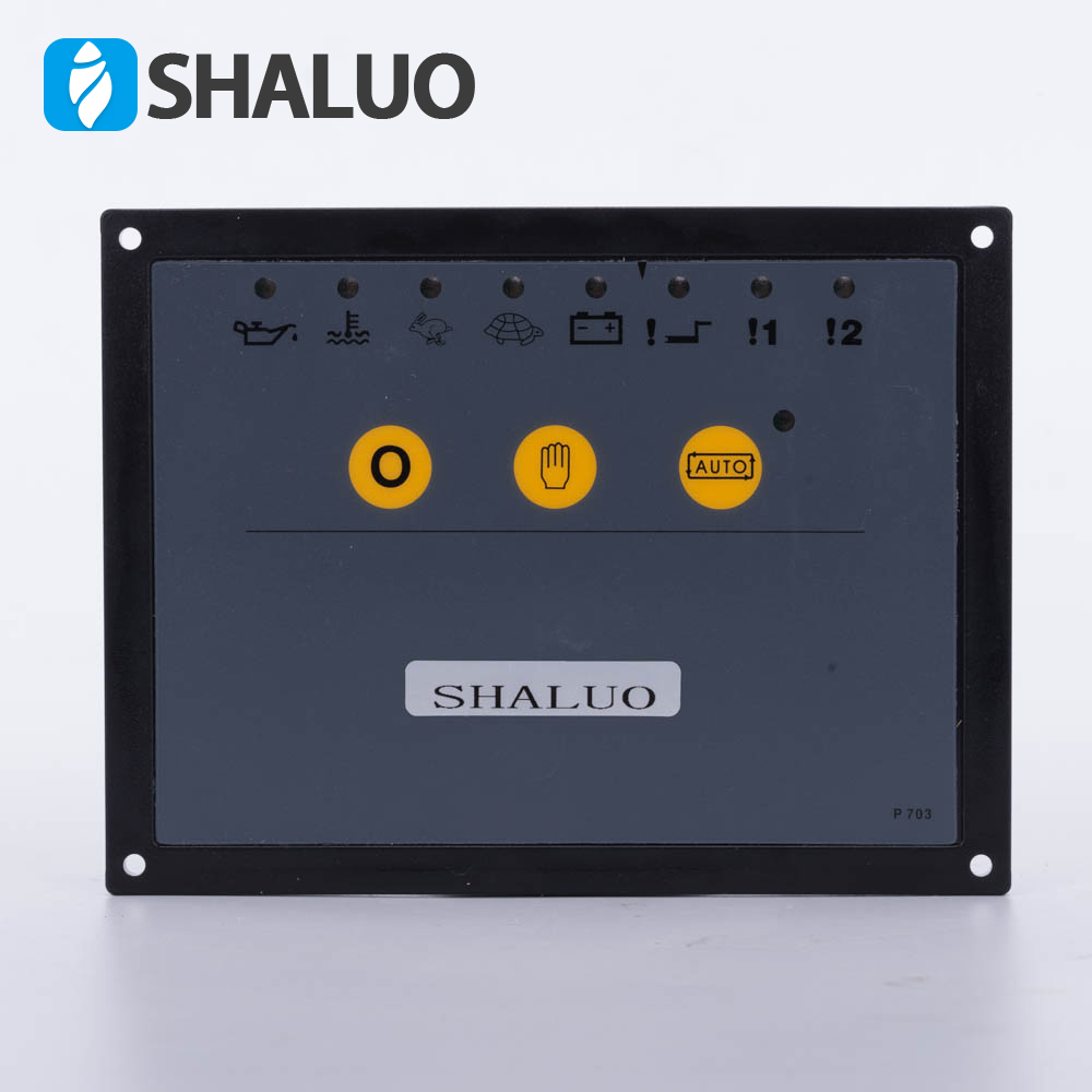 703 Generator controller external alternator controller diesel genset parts electronic circuit board panel replace original цена