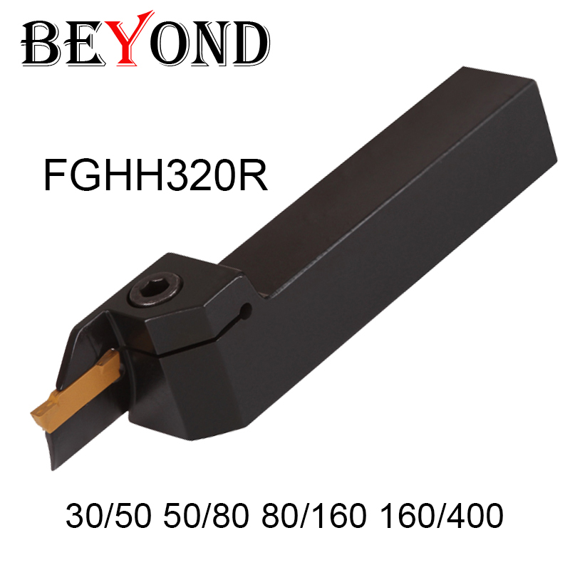 OYYU FGHH320R 30 50 80 160 400 Face Cutter Grooving Cutting Lathe Turning Tool Holder Boring