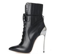 Осенняя женская обувь из натуральной кожи Модные Дизайнерские ботильоны с острым носком Зимние Модные кисточкой черный серый ботинки на то
