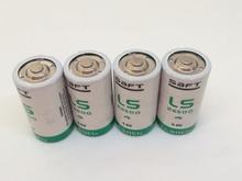 Wholesale 50pcs/lot New Original SAFT LS26500 C 3.6V 8000MAH Lithium 26500 Battery Non-rechargeable (LS26500) Batteries