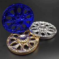 Electroplate Coating Zinc Alloy Hand Spinner Full Metal Fidget Spinner EDC Toy DIY Replacement Boy Toy