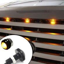 3 pçs carro led âmbar grade kit de iluminação universal apto caminhão suv para ford svt raptor estilo