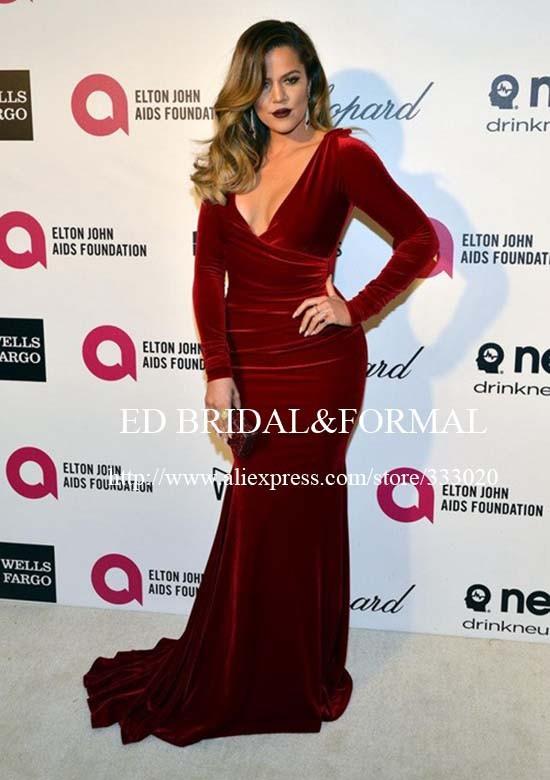 159.99 khloe-kardashian-burgundy-dress-2014-elton-john-oscar-party-01 (2)