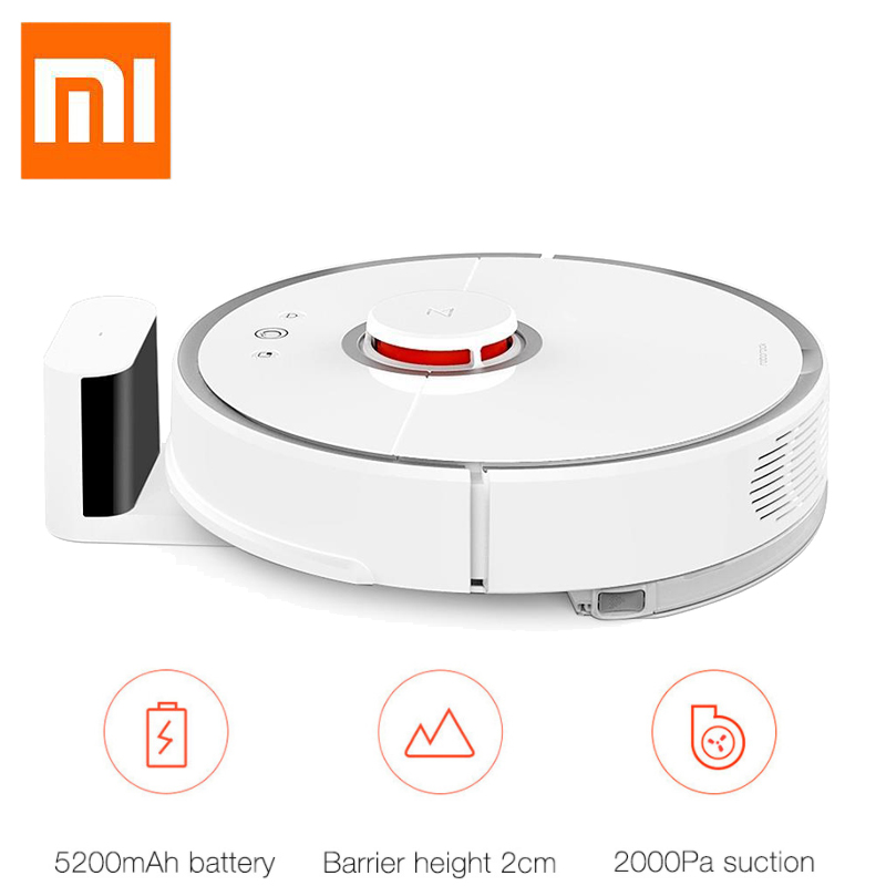 [International Version] Xiaomi Mijia Roborock Vacuum Cleaner 2nd Automatic Area Cleaning 2000pa Suction 2 in 1 Sweeping Mopping fundamentals of physics extended 9th edition international student version with wileyplus set
