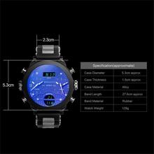Big Mens Watch Sport Quartz Men Wristwatches