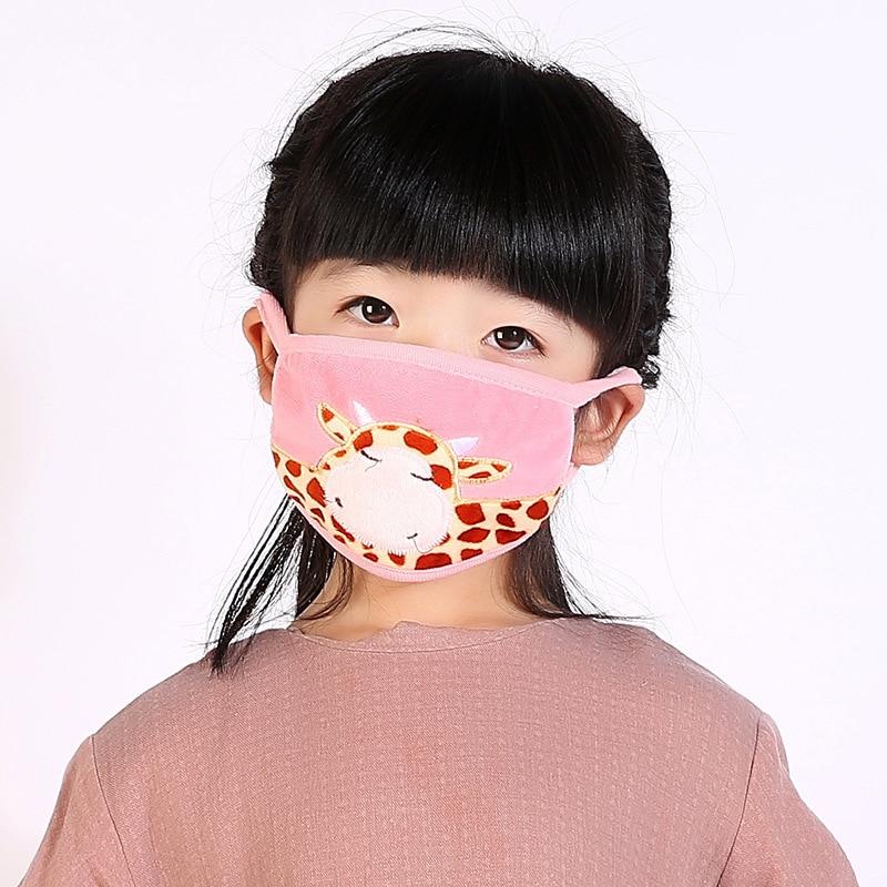 10ks / balení HN bavlněná maska na ústa maska Bouche Kpop Dust Masky pro ústa Masken Zimní jízda Prodyšné teplo a chrániče sluchu