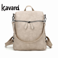 2017 Design brand Kavard Backpack Women Backpack School Bag Mochila Escola Student Backpack Ladies Women Bags Package Rucksack