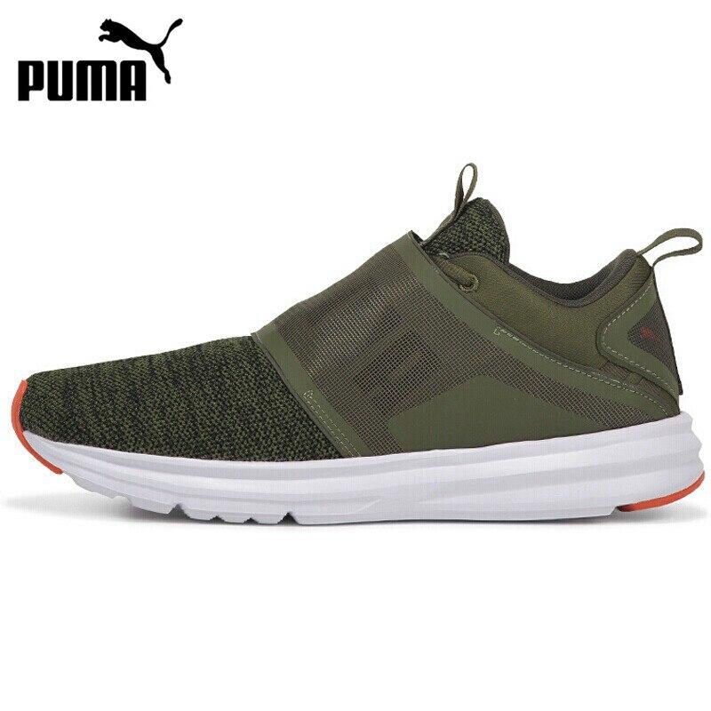 Nouveauté originale PUMA Enzo sangle tricot chaussures de course homme baskets