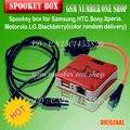 2016 nuevo 100% original gpg spookey caja para samsung y htc y sony xperia y motorola y lg y blackberry reparación raíz de desbloqueo del flash de lectura/escritura