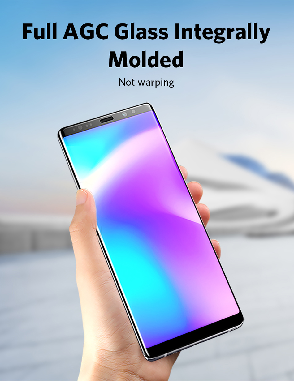 Benks Full Cover Tempered Glass 9H For Samsung Note9 0.3mm Thin Protector Screen Front Film (5)