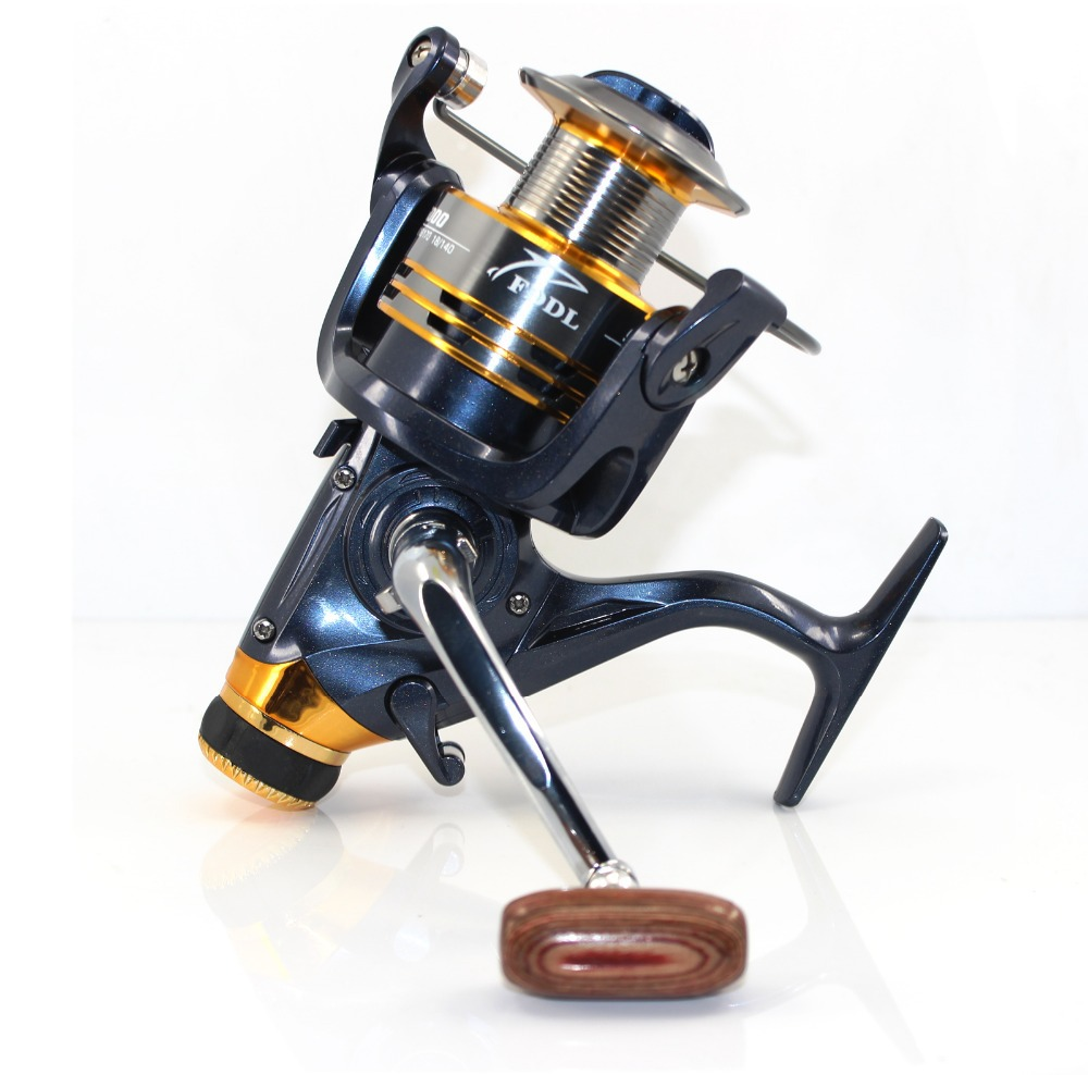 OLDCARP Carrete de cebo Carp Fishing Reel 9 + 1 BB - Pescando