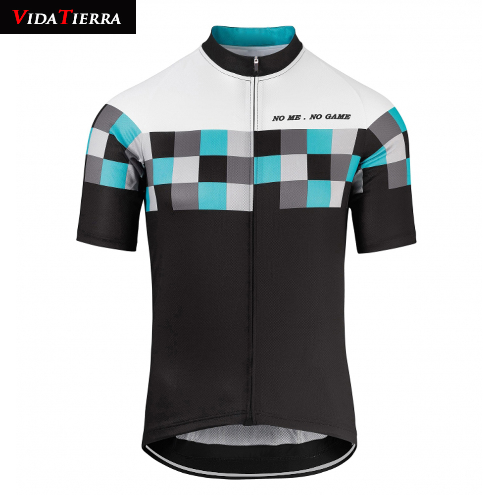 online store 4d7e5 5c29b US $14.88 |2019 VIDATERRA men cycling jersey black yellow blue red green  pink pro racing team mtb road bike wear clothing classic lucky-in Cycling  ...