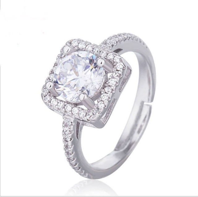 wholesale Limited New Arrival Plant Trendy Unisex Sale Authentic Crystals  From Swarovski Fine Jewelry Ring Wedding Ring 1a7843742aee