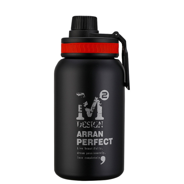 580ML/880ML Double wall Vacuum Stainless steel sports water bottle creative BPA free healthy car driving thermal water bottle 3