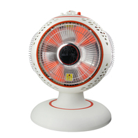 220V AUX Electric Fan Heater Three Head Rotatable Energy saving Fast Heating 2 Gear Heating On Three Sides EU/AU/UK/US Plug