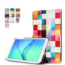 For fundas Galaxy Tab E 9.6 T561 Cover Case For fundas Samsung Galaxy Tab E 9.6 T560 SM-T560 T561 Tablet Cover + Stylus