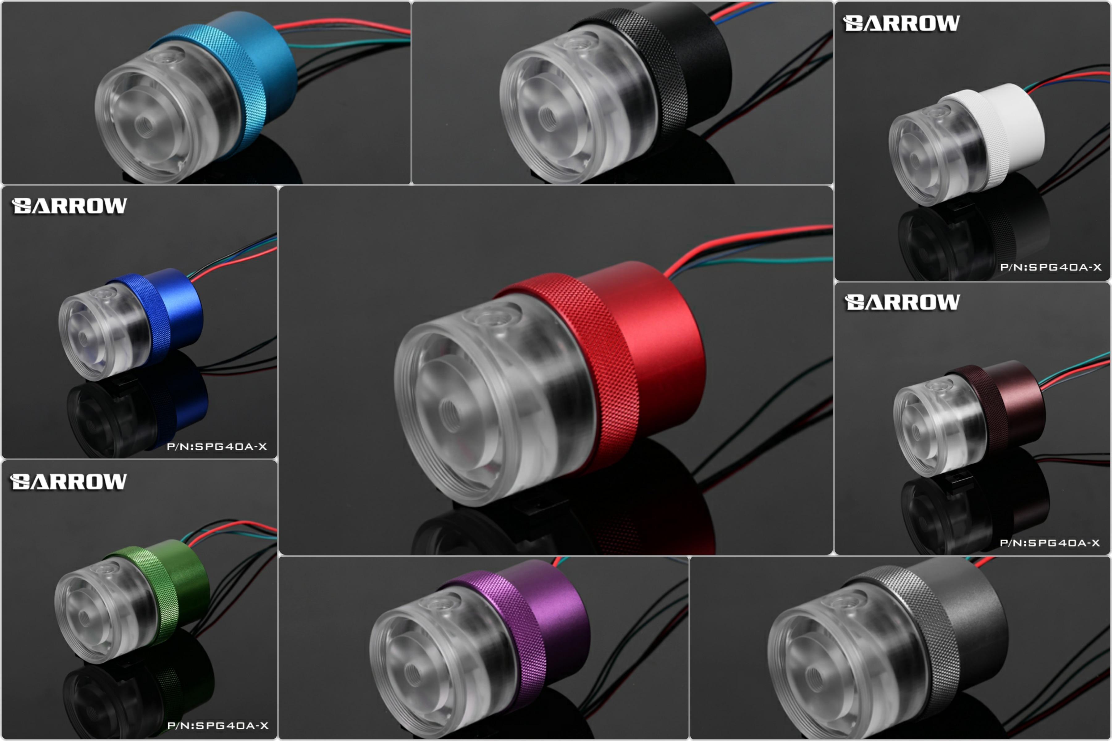Brouette SPG40A-X haute débit PWM pompe à eau avec dissipateur thermique 18 W 1260L