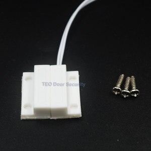 Image 4 - Czujnik na okno Alarm Mini Home drzwi magnetyczne okno wejście Alarm ostrzegawczy przełącznik drzwi kontakt magnes NC drzwi antywłamaniowe