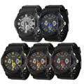 ALIKE AK14108 Men Digital Waterproof Stop watch Military Army Double Time LED Wrist Watch Gift Relogios Masculino Hot!