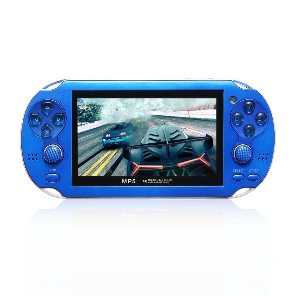 X1 Handheld Game Players 4.3 Inch HD Portable  MP5  4GB/ 8GB Support For Camera Video E-book GBA Games TF Card  game  consoleX1 Handheld Game Players 4.3 Inch HD Portable  MP5  4GB/ 8GB Support For Camera Video E-book GBA Games TF Card  game  console