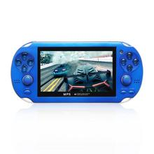 X1 Handheld Game Players 4.3 Inch HD Portable MP5 4GB/ 8GB Support For Camera Video E-book GBA Games TF Card game console
