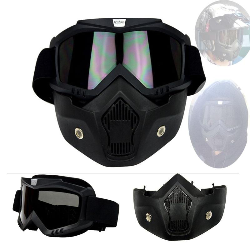 BEON motocross 더블 레이어 검은 색 antifog 고글, 이동식 - 오토바이 액세서리 및 부품