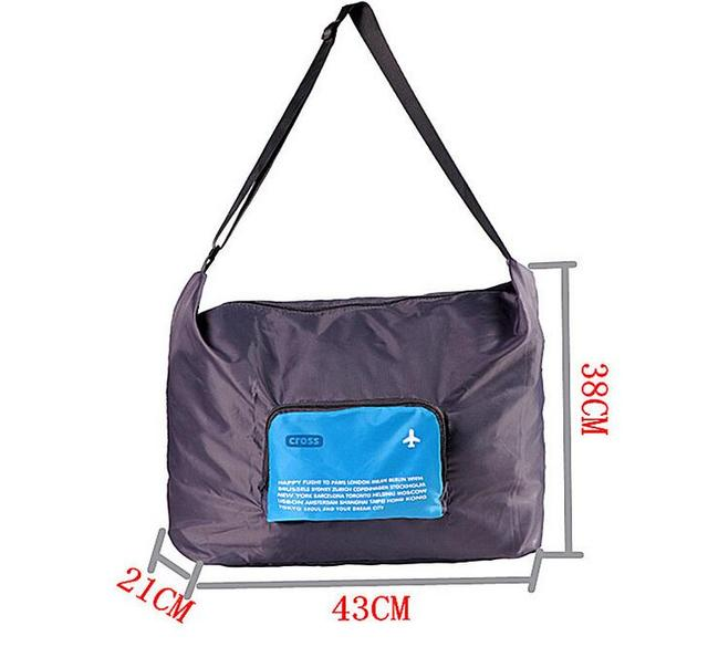Foldable WaterProof Nylon Travel Bag Unisex Luggage Travel Duffle Large Capacity Bag folding plane Folding Handbags travel bag