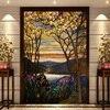 Church Windows And Doors Mosaic Art Glass Film Xuan Kwong Cut Off The Color Window European