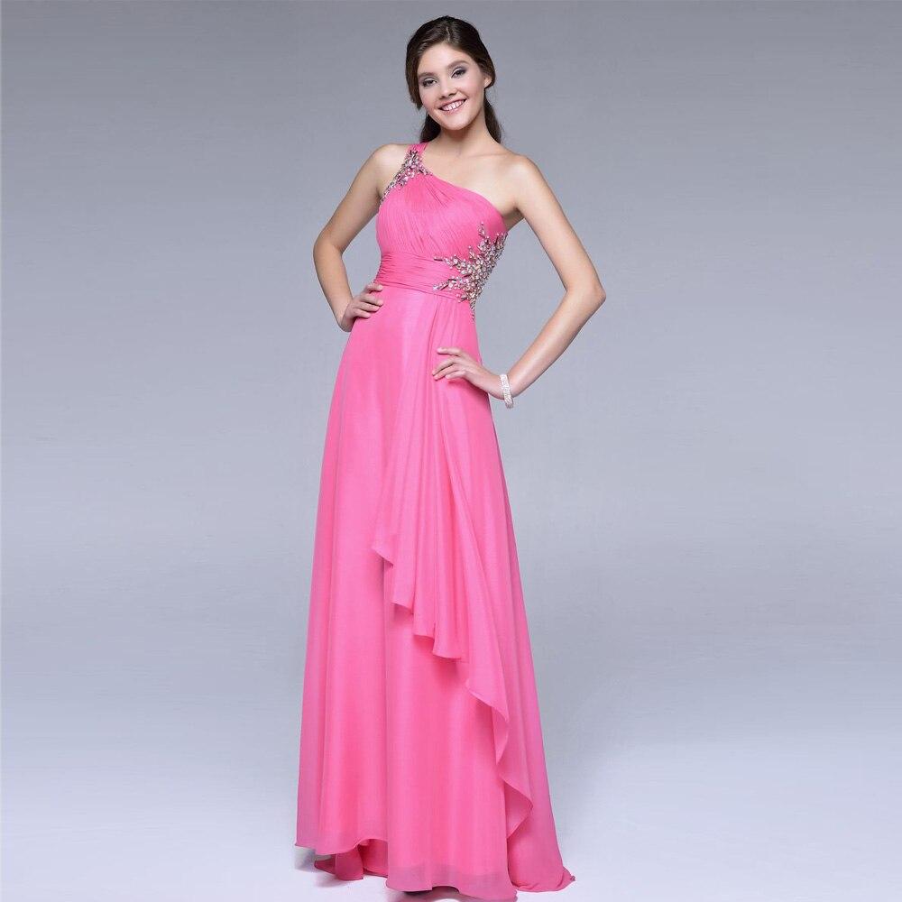 Perfecto Vestidos De Novia Un Hombro Baratos Adorno - Colección de ...