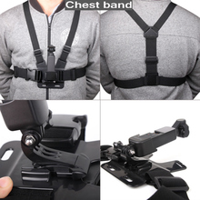 Chest Band Strap and Multi function Expansion Adapter Mount for DJI Osmo Pocket Gopro Selfie Stick/Tripod/Backpack Clamp Adapter