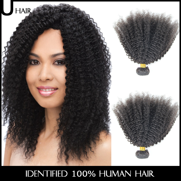 Cheap Brazilian Afro Kinky Curly Hair 1pcs 10 30 Natural Afro Hair
