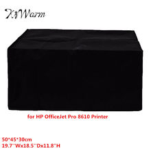"KiWarm Black Polyester Fiber Dust Cover Cloth for HP OfficeJet Pro 8610 Printer Washable Cloth 19.7''Wx18.5''Dx11.8""H(China)"